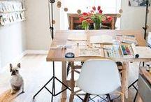 decor// office / by Leah Gaeddert   {lavender & clover}