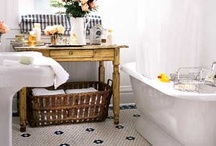 decor//bathroom / by Leah Gaeddert   {lavender & clover}
