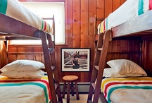 home - built in bunk bed