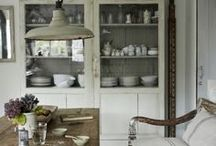 Kitchens and kitchen things / by TriciaRose Rough Linen
