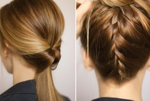 Hair styles / by Ivana Urošević (Vanai)
