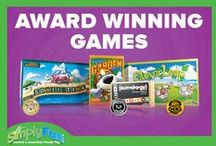 Award Winning Games / Read more about our Award Winning Games on our Blog: http://blogs.simplyfun.com/  / by SimplyFun