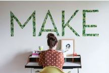 Craft, DIY and How To / by Aleksandra Chabros - Art and Craft
