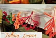 HOLIDAYS: Fall & Thanksgiving / by Carla Honaker