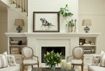 Colonial Modern Living Room / Updating an 1800 farmhouse / by Kristin Howard