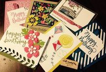 Stampin up workshop / Simple and easy cards - Fast & Fab workshop / by Cathy Lay