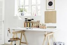 Creative workspace / A perfect place to work on changing the world