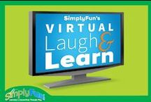 Virtual Laugh & Learn / Check out our fun Virtual Laugh & Learn pictures! Playologists, you'll want to have one. And SimplyFun players, you'll want to go to one! Check out how SImplyFun is changing the face of direct sales, you wont want to miss it!  / by SimplyFun