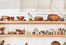kitchen / Right now I cook in a 4 sq ft galley kitchen on my sailboat so every inch is duly considered for form, function and beauty. Here are all the ideas I love, and a few dreamy kitchens space ideas in case I ever move back to hard ground.