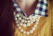Pairing Necklaces and Necklines / for when you're puzzled with what necklace to wear