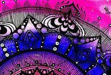 zentangles/mandalas/doodles