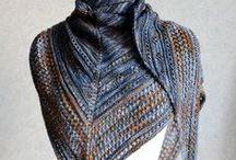 KNITS - Scarves and shawls / Knitted shawls