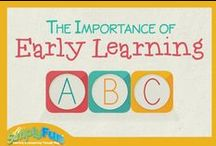 The Importance of Early Learning! / Learn more about the Importance of Early Learning and our Head Start Program! Shop all of our games early learning games:  http://bit.ly/1aunMWg / by SimplyFun