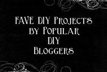 Fave DIY Projects by DIY Bloggers / Showcase for Great DIY Projects by Popular DIY Bloggers