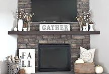 Fireplace Mantel Decor Ideas