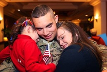 Welcome Home, Soldiers! / This Pinterest board features photos and videos of #Soldiers returning from #deployment and training exercises. A #military #homecoming reunites Troops with their #family and loved ones.