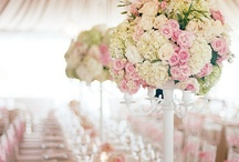 Wedding Party with Pastel Pink Accents