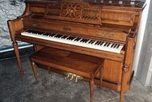 Products I Love / Pianos that I have reconditioned. Some have been sold already and some are still available.