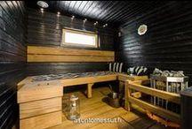 Aika saunoa / Uusimmat saunatrendit sekä ihanuudet ja erikoisuudet saunoihin Asuntomessujen silmin.