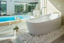 Aika kylpeä / Ajatuksia ja ideoita kylpyhuoneisiin Asuntomessujen silmin.