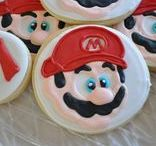 Super Mario Brothers Party / Super Mario Brothers - bright colors, mustaches, and yellow stars. Plus pizza. Lots of pizza. | super mario | super mario party | super mario birthday party | super mario party ideas