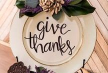 Thanksgiving / Make your Thanksgiving wonderful this year with the best Thanksgiving recipes, Thanksgiving decor, and Thanksgiving crafts!