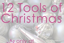 12 Tools of Christmas / From December 1st, Paper Flourish will be running daily video tutorials and demonstrations for a variety of tools. As each tool video is released, it will also go on sale at a special discount price until the 12th! You'll be able to take advantage of these specials on our Web Store and in our retail outlets!