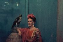 AnOther's Favourite Frida / We celebrate the eclectic wardrobe of Frida Kahlo. Visit here to choose your favourite look and post your picks @anothermagazine #favouritefrida... http://ow.ly/h3pJT / by AnOther