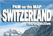Pam on the Map SWITZERLAND (wit and wanderlust) / Pam on the Map: Switzerland and other Pam on the Map books are NOW AVAILABLE! http://www.amazon.com/Pam-Map-Switzerland-Stucky-ebook/dp/B00FUAJ894/