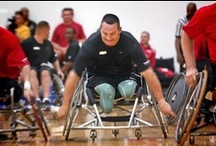 "Army Wounded Warriors / ""Accept the challenges so that you can feel the exhilaration of victory.""-Gen. George S. George Patton"