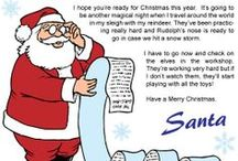 WTDWTK Letters from Santa / Here are a few letters from Santa that you can print off and give to the kids.  You can also go to our website at www.whattodowiththekids.com and have the kid's name placed on the letter before printing.  Check out the downloads section for more kid friendly downloads.