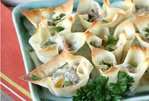 RECIPES || Appetizers / A collection of Appetizer recipes for your guests during any occasion!