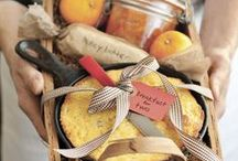 Hostess Gifts / Never arrive empty handed. | hostess gifts | hostess gift ideas | hostess gift DIY | handmade food gifts