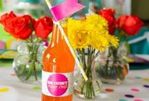Twins Top 10 Party / Celebrating my twin girls' 10th birthday with a favorite things party. | favorite things party | favorite things birthday party | 10th birthday party | twins birthday party