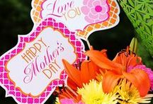 Free Printables - Mother's Day / free party printables | party printables | free printables | birthday party printables | free holiday printables | holiday printables | mother's day printables | free mother's day printables | free mother's day cards | free mother's day banners | free mother's day cupcake toppers