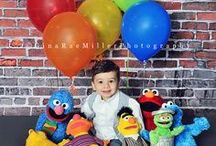 """Sesame Street Party Ideas / """"Can you tell me how to get, how to get to Sesame Street?"""" 