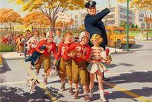 Art by Art Frahm / Vintage Children