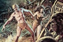 Art by Earl Norem / Earl Norem - Planet Of The Apes - Tales Of The Zombie - Hulk - Merlin - G.I.Joe - Masters Of The Universe - Conan - Mars Attack