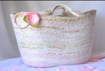Coiled Fabric Baskets, Clothesline Rope Baskets, and more / Wonderful Baskets from around the world!