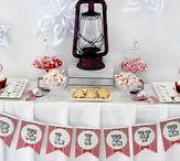 Polar Express Party / I hear a bell ringing - do you still believe? | polar express party | polar express party ideas | polar express party printables | polar express cookies | polar express dessert table | polar express party backdrop | polar express party favors