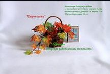 Beaded flowers and trees / Beaded flowers and trees