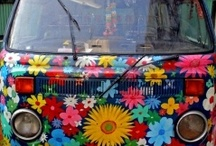 Hippie vans & Cars for Sammy / by Gina Hall