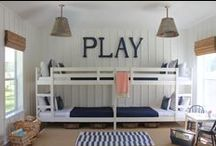 Inspiring Spaces ~ Kids' Room / Inspire your kids to grow, play, and learn - and give them a great place to do it!