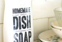 Homemade Cleaning Products / by Sara Weber