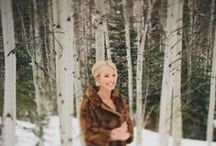 Winter Wedding Wonderland / Winter Wedding Inspirations