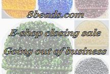 News / Новости / Novinky / We're Czech Preciosa Ornela beads, Japan TOHO beads e-shop. In English = 8beads.com In Czech = koralkomat.cz In Russian = biser.ru