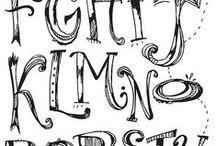 Fonts / by M D