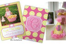 Camilla's 1st Birthday! / Pink Lemonade