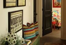 Inspiring Spaces ~ Hallway / More than a way to get from here to there, a hallway is an opportunity to show your chops!