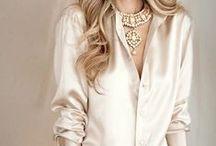 Warm Light - Beige, cream, caramel, and nude palette / fashion in cream, nude, beige, caramel colors